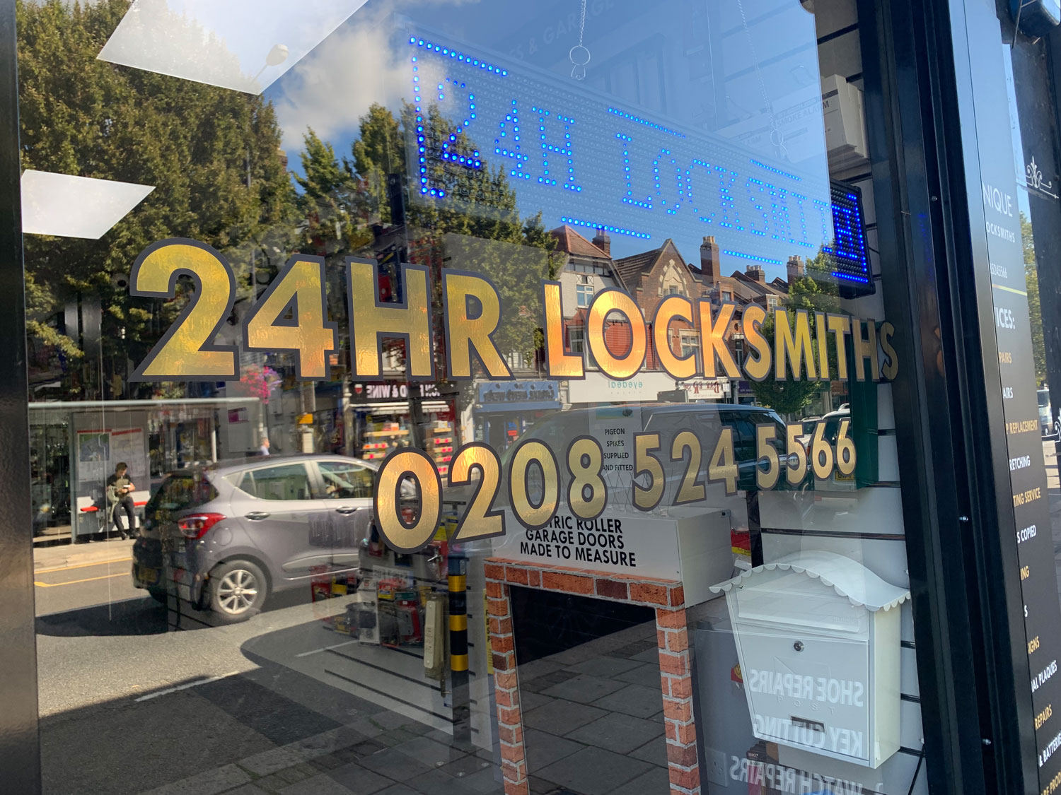 Shop Win Img │Locksmith Enfield │ Unique Locksmiths